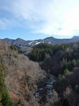 樹氷橋から撮影