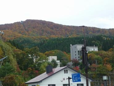 山頂駅付近