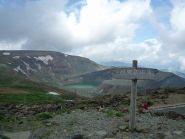 刈田岳山頂