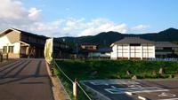 七ケ宿道の駅 新しくなってました