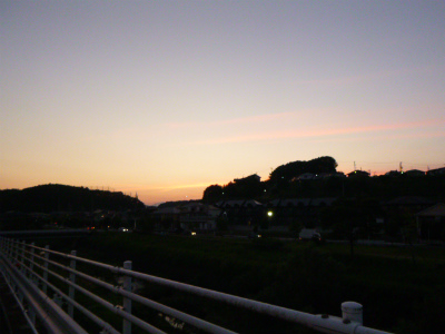 19日散歩と仙台空港お迎え