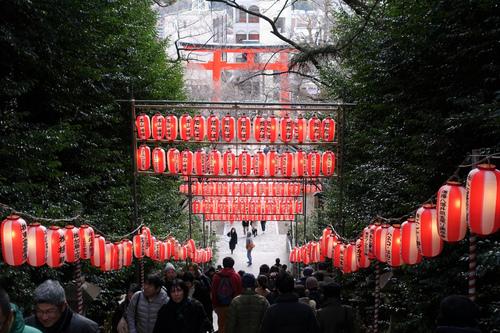 大崎八幡宮への初詣