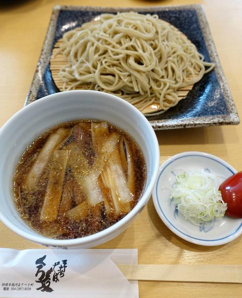 静岡「くろ麦」の手打ち蕎麦