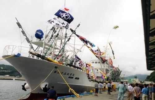祝! 第65欣栄丸の新船披露