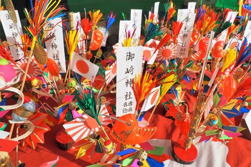 御崎神社のはじき猿