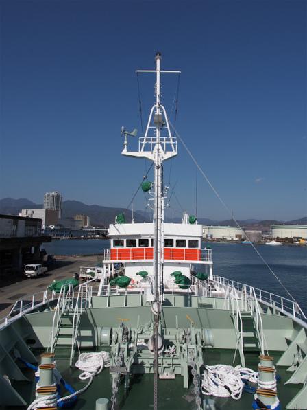新造船の81海王丸さん