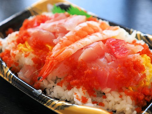 海鮮ちらし寿司ランチ
