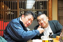 寿司安で船頭さんと食事会