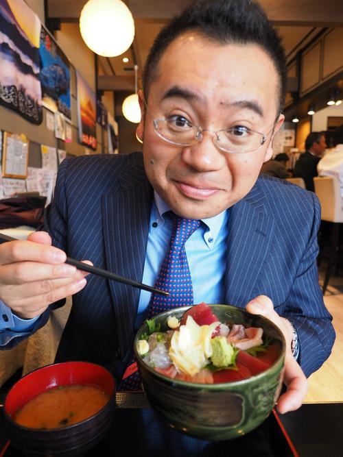 豪華5色海鮮丼