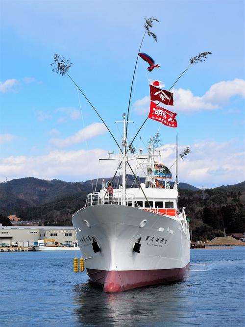 新造船「第8明神丸」の船内見学