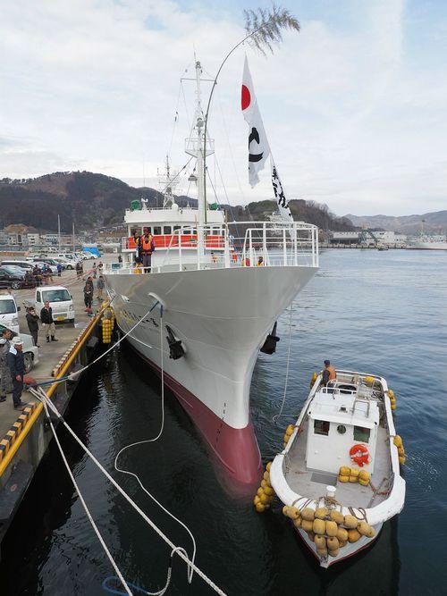 勝栄丸ブログ:まぐろ船2隻が気仙...