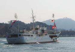 88勝栄丸がインド洋へ出港