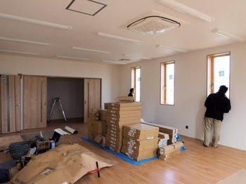 新社屋の完成間近