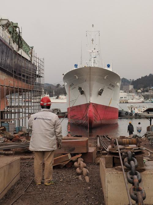 みらい造船が本格的に事業開始
