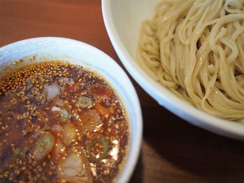 寒い時には「辛シビつけ麺」