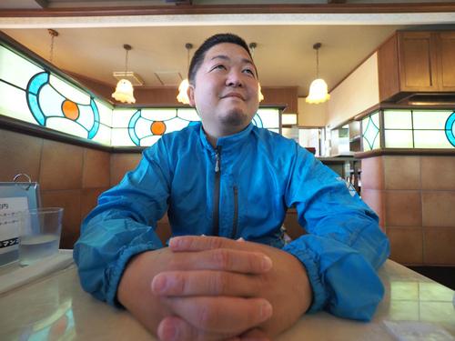 気仙沼「喫茶マンボ」にて