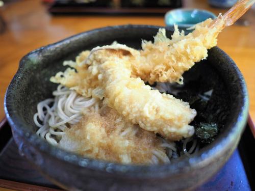 清水「萩田」のお蕎麦ランチ