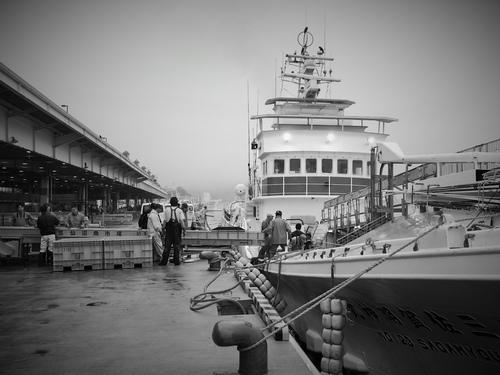 カツオ船の「盆休み」