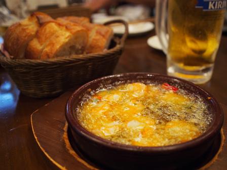 スペイン料理で昇進祝い