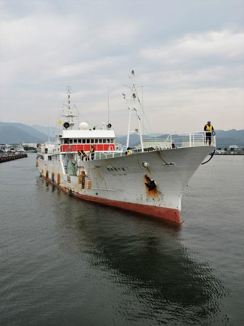 第7勝栄丸が大西洋から帰港