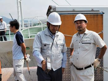 第7勝栄丸の清水港水揚げ