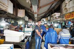 バリ島のグドゥンガナン市場にて