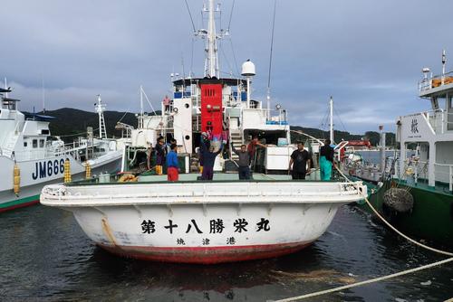 第18勝栄丸が焼津へ廻航