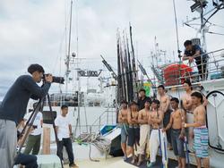 漁師カレンダーの撮影会