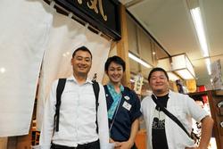 「藁焼き鰹たたき明神丸」竹橋店へ