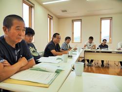 勝栄丸の出漁前合同会議