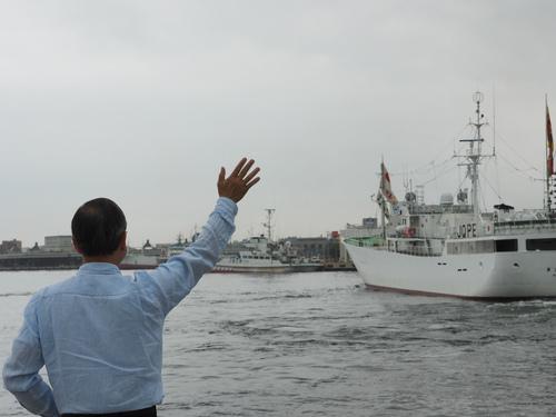 祝・37福徳丸出港