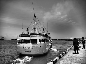 Benoaへの集中入港