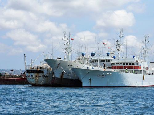123勝栄丸がバリ島を出港