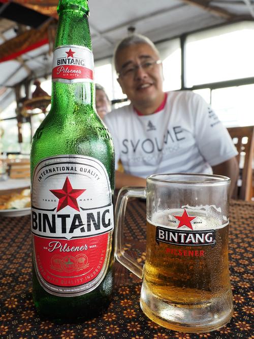 ジャワ料理とBintangビール