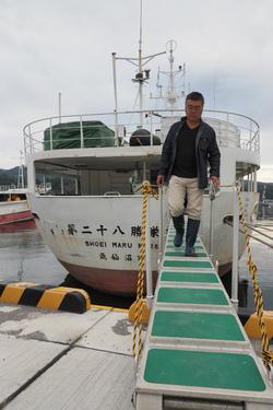 係船中の定期運転