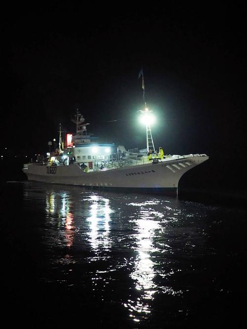 183佐賀明神丸が今年の最終航海へ