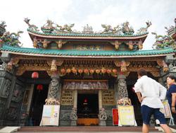 台南で「漁の神様」に願い事