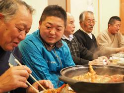 勝倉漁業の忘年会