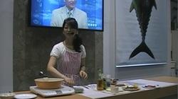 シーフードショー 報告④ 8月21日(水) フードニスタ浜田峰子先生の料理ショー