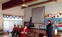 まぐろ贈呈式・出前授業-児童養護施設仁風学園-