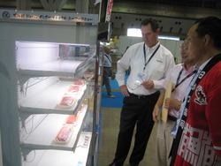 シーフードショー 報告③ 8月21日(水) 実証事業の製品の試食