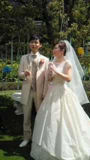 鮫島君史織ちゃん結婚式