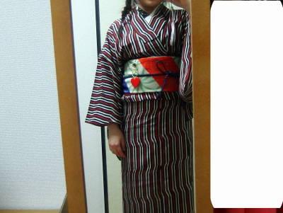 昨日の着物★