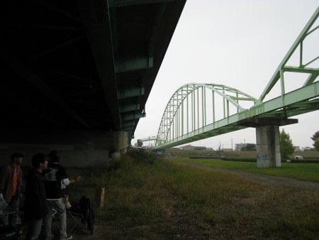 ウミイモ煮会in広瀬川