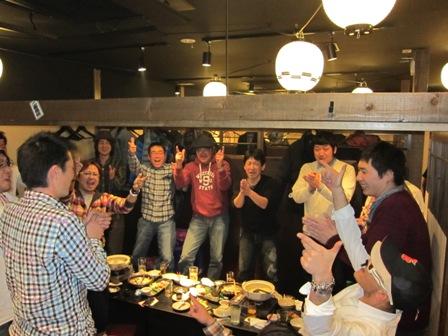 2012年TeamUMIMAN新年会
