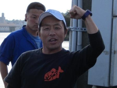 ジガーファイトin仙台湾