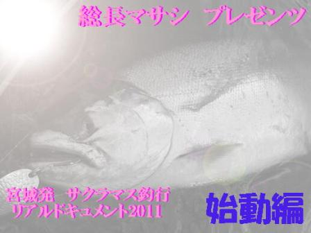 2011宮城サクラマス始動!!