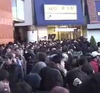 3月11日新宿