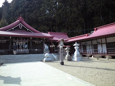 金蛇神社へドライブ