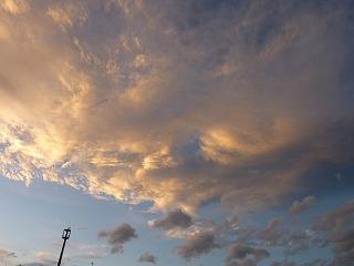 きれいな夕焼けが続いています